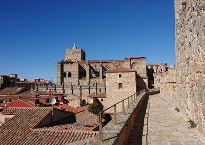 Catedral y claustro (vista sur)