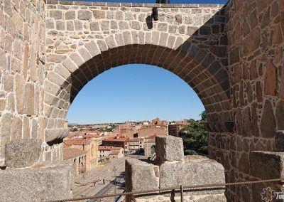 Puente entre torreones