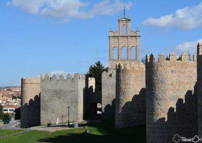 Puerta y Espadaña del Carmen