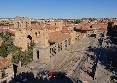 Basílica de San Vicente y Ermita del Humilladero en Ávila
