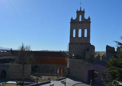 Espadaña junto a la Puerta del Carmen