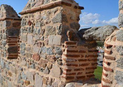 Saeteras en el recorrido de la Muralla de Ávila