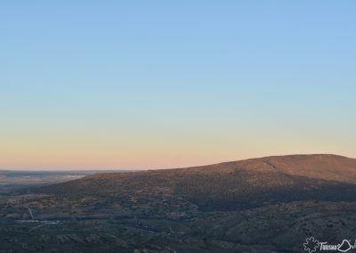 Vistas desde el Castillo de Aunqueospese
