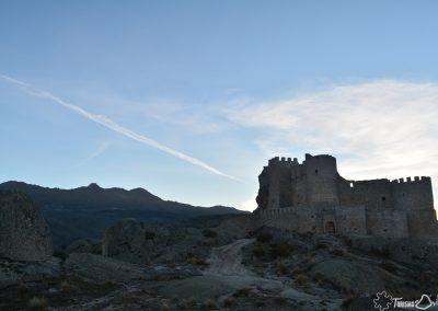 Castillo de Aunqueospese situado en el término municipal de Mironcillo (Ávila)