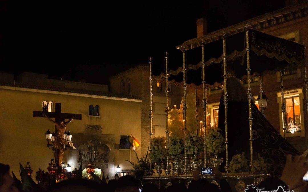 Semana Santa Ávila 2019: Procesión de El Encuentro