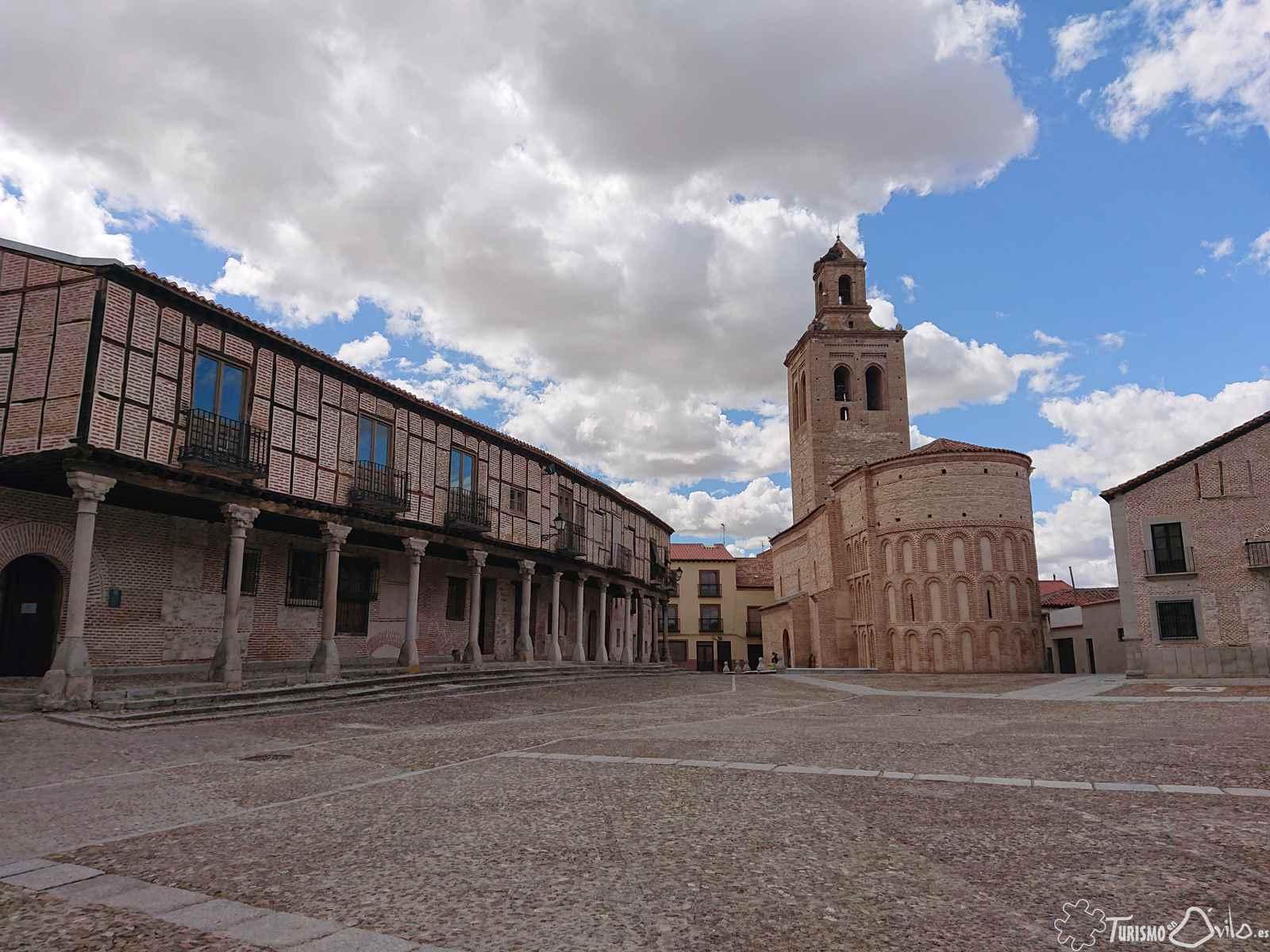 Viendo Ávila, desde lo alto de la Muralla