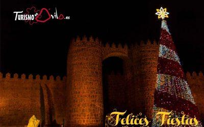 Feliz Navidad desde Turismo en Ávila