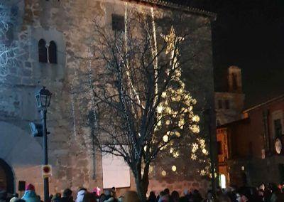 Vídeo mapping de Navidad en la Plaza de Pedro Dávila de Ávila
