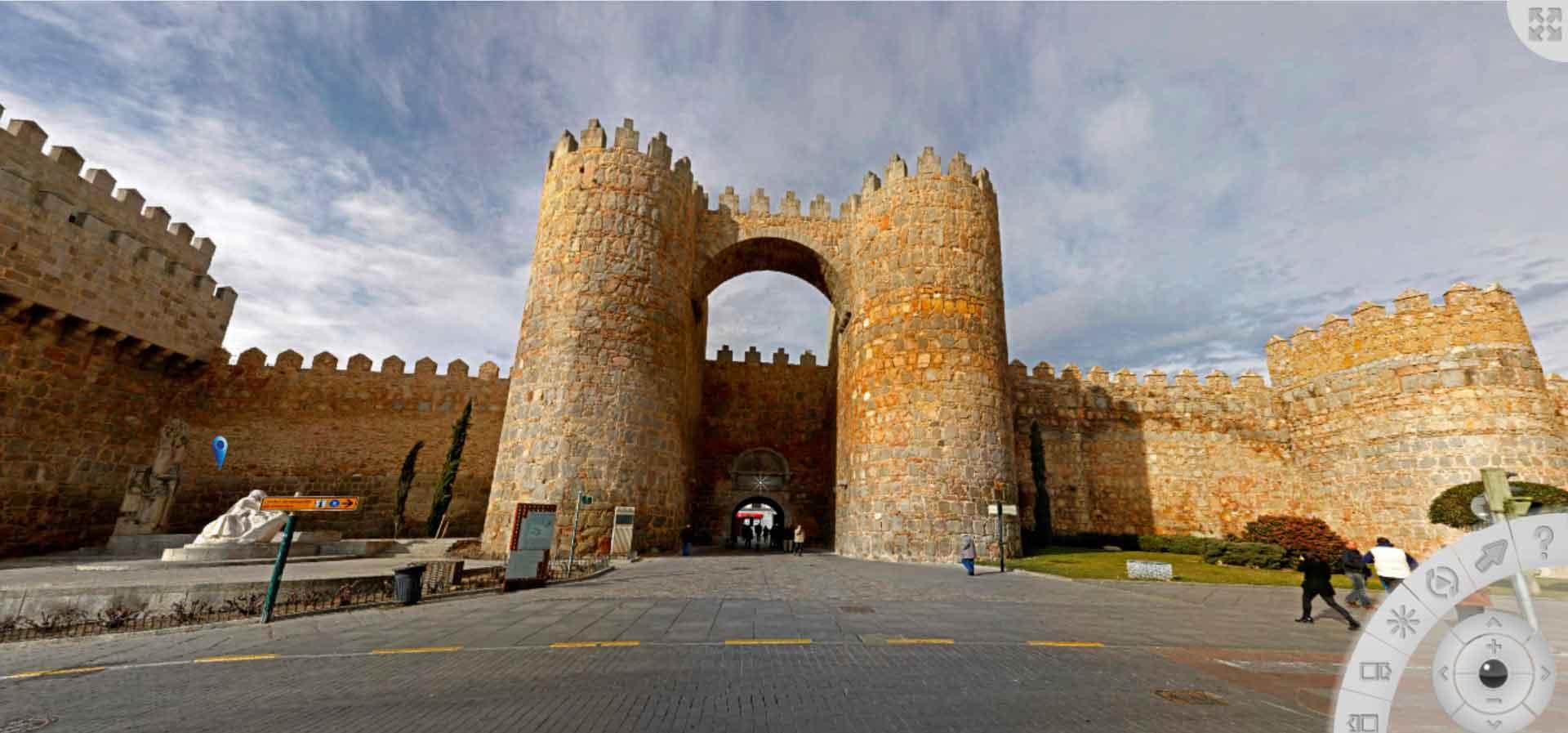 Visita virtual de Ávila